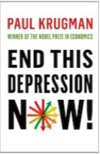 Krugman's book cover